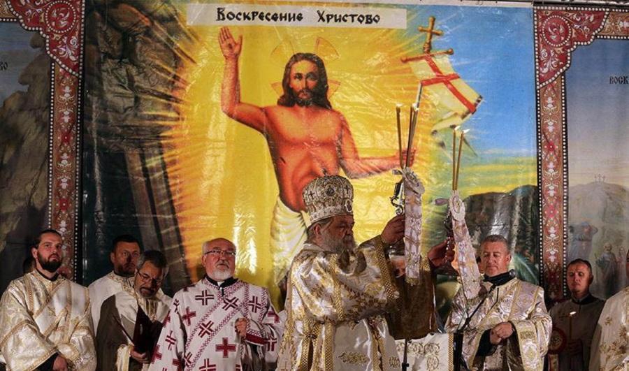 Христос Воскресна – Славете го!
