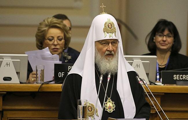Рускиот Патријарх: Законите напишани без морални вредности се штетни и некорисни