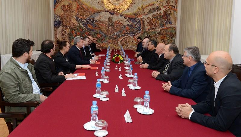Претседателот Иванов покровител на настаните за 500 години Протестантска Реформација