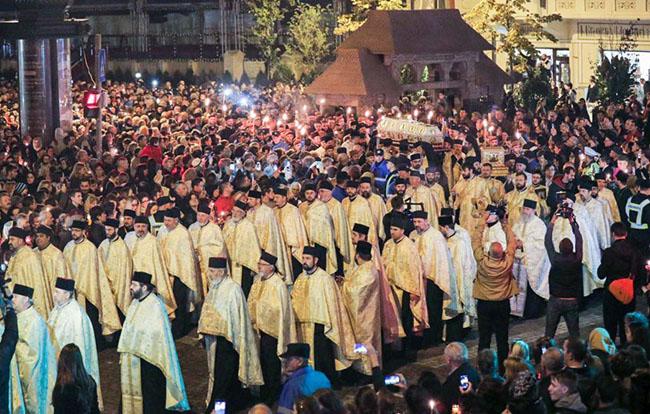 Над 25.000 верници на литија во Романија