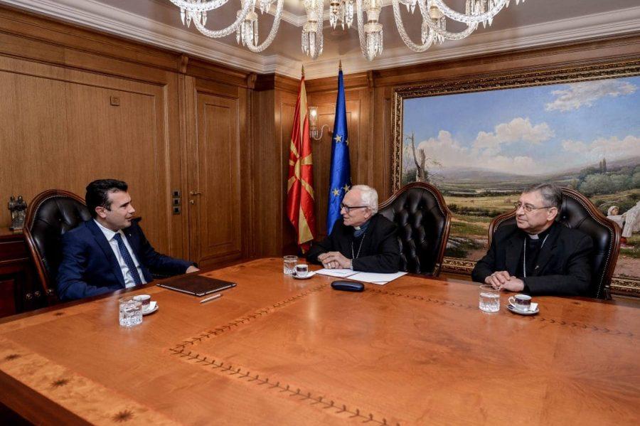 Премиерот Заев му вети на Ватикан обнова на Паљурци