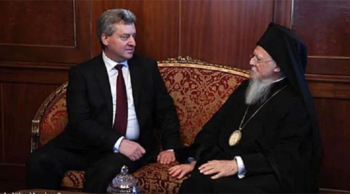 Иванов го поканил Вартоломеј да ја посети Македонија за јубилејот 1000 години Охридска Архиепископија