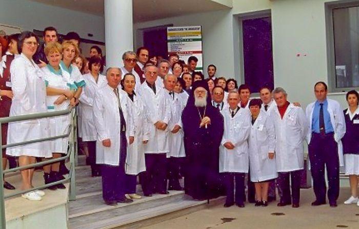 Албанскиот архиепископ ја направи најмодерната болница во Тирана