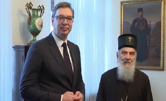 Вучиќ и Иринеј загрижени поради апсењето на владици и свештеници во Црна Гора