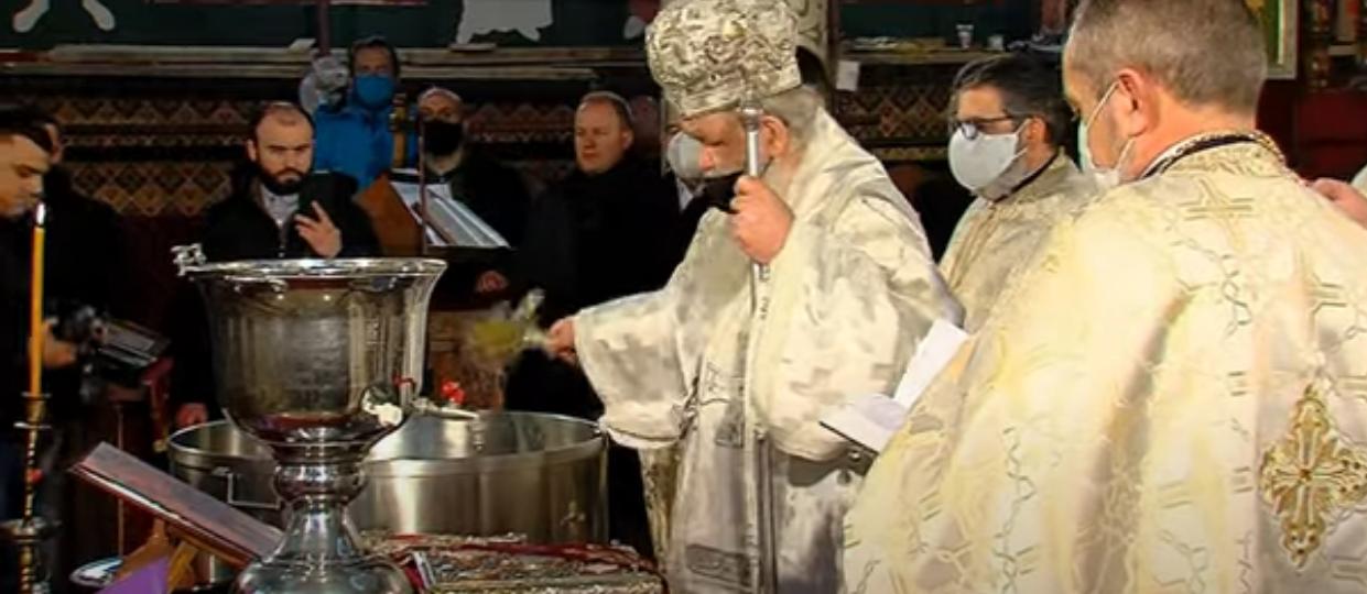 Богојавление-Водици одбележан со свети литургии во црквите