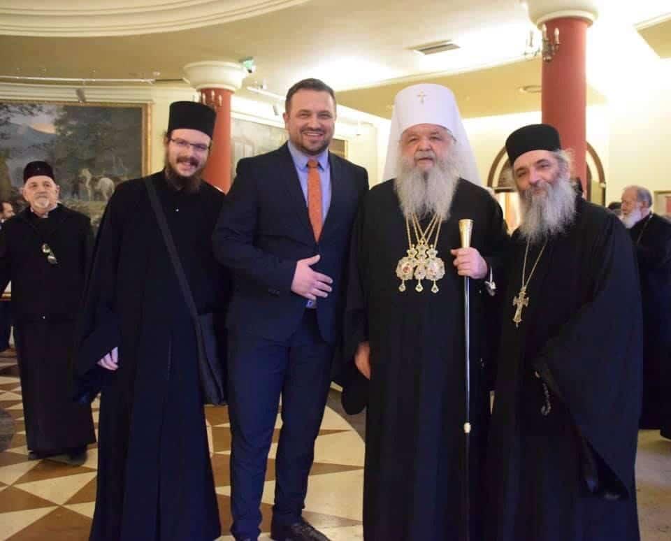 Ѓуровски:Од изборот на нов српски патријарх зависи начинот и времето на затворање на отворени прашања на Балканот