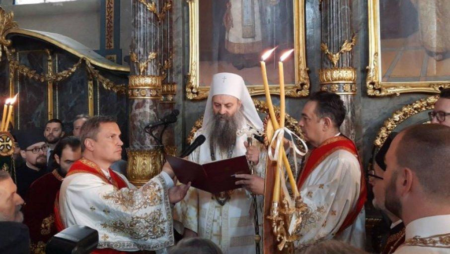 Востоличен новиот српски патријарх
