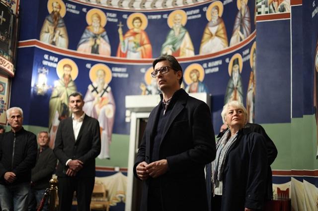 Пендаровски ја посети македонската црква во Шведска