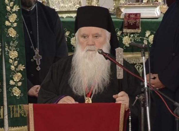 Света литургија по повод 40 години од архиерејска служба на Митрополитот Дебарско-кичевски